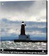 Lighthouse Faith Acrylic Print