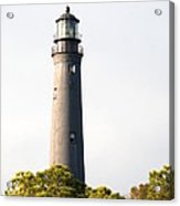 Lighthouse From A Distance Acrylic Print