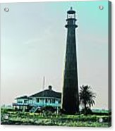 Lighthouse Galveston Acrylic Print