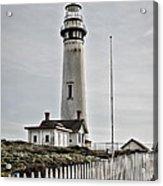Lighthouse Acrylic Print by Heather Applegate