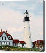 Lighthouse Maine Acrylic Print