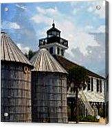 Lighthouse On Gasparilla Acrylic Print