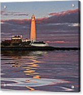 Lighthouse Reflection Acrylic Print