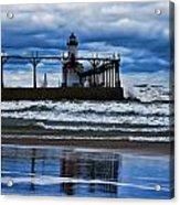 Lighthouse Reflections Acrylic Print