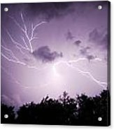 Lightning Burst Acrylic Print