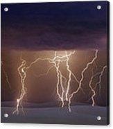 Lightning Dance Acrylic Print
