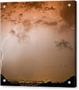 Lightning Dome Acrylic Print by James BO  Insogna