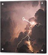 Lightning Man Acrylic Print