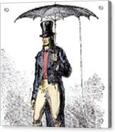 Lightning Rod Umbrella Acrylic Print