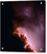 Lightning Starts A Fire Acrylic Print