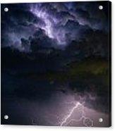 Lightning Thunderhead Storm Rumble Acrylic Print