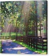 Lightray Farm Acrylic Print
