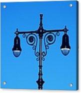 Lights Of Coney Island Acrylic Print