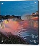 Lights On Niagara Acrylic Print