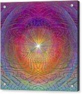 Lightwave Geometrics Acrylic Print