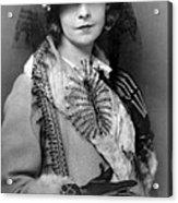 Lillian Gish 1922 Acrylic Print