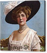 Lillian Russell On Cover Acrylic Print