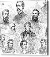 Lincoln Assassins Trial Acrylic Print