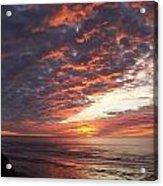 Lincoln City Sunset Acrylic Print