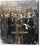 Lincoln Inauguration, 1865 Acrylic Print by Granger