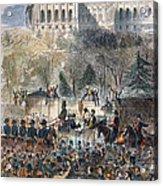 Lincoln Inauguration Acrylic Print