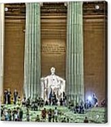 Lincoln Memorial Steps Acrylic Print
