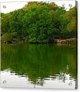 Lincoln Park North Pond In Chicago Acrylic Print