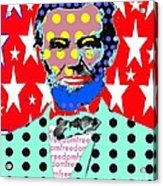 Lincoln Acrylic Print by Ricky Sencion