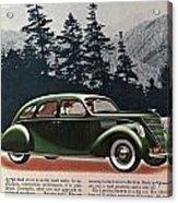 Lincoln Zephyr 1936 Acrylic Print