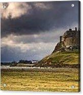 Lindisfarne Castle, Beblowe Crag Acrylic Print