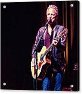 Lindsey Buckingham In Concert Acrylic Print