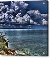 Lingering Clouds Acrylic Print