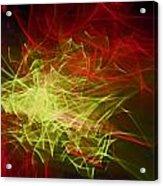 Liquid Saphire 10 Acrylic Print by Cyryn Fyrcyd