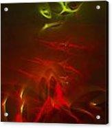 Liquid Saphire 13 Acrylic Print by Cyryn Fyrcyd