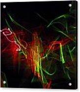 Liquid Saphire 2 Acrylic Print by Cyryn Fyrcyd