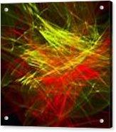 Liquid Saphire 23 Acrylic Print by Cyryn Fyrcyd