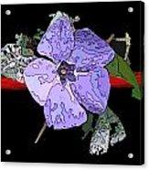 Little Blue 3 Acrylic Print