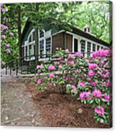 Little Brown Church In Spring Acrylic Print
