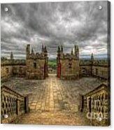 Little Castle Entrance - Bolsover Castle Acrylic Print