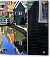 Little Dutch Houses Acrylic Print