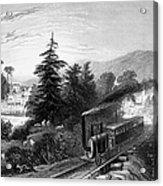 Little Falls: Railroad Acrylic Print
