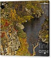 Little Gorge Acrylic Print
