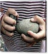 Little Hands Of Stone Acrylic Print