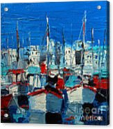 Little Harbor Acrylic Print