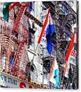 Little Italy In Color Acrylic Print