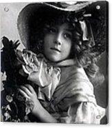 Little Lady Acrylic Print