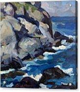 Little Maine Seascape Acrylic Print