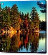 Little Mellon Lake One Acrylic Print