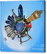 Little Planet - London Acrylic Print