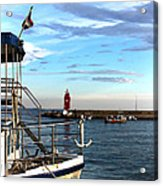 Little Red Lighthouse Acrylic Print